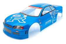 . Racing Nissan Skyline Gtr Body Shell De 190 Mm Azul s020blue