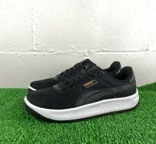 PUMA California Classic Shoes Mens Size 9.5 Black White New 369288-01