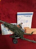 GI Joe HAL Heavy Artillery Laser Pilot Grand Slam, Vintage, Figure, Instructions