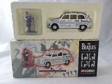 1997 THE BEATLES COLLECTION Newspaper Taxi & Figure CORGI CLASSICS