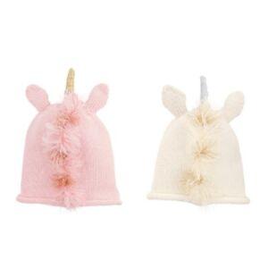 Mud Pie E1 The Kids Shoppe Baby Girl Knit Unicorn Hat 6-18M 16010074 Choose