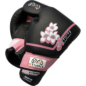Rival Boxing Women's Pro Sparring Gloves - Black/Pink