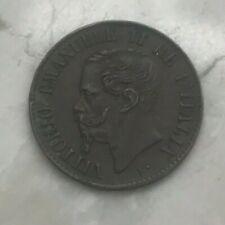 1867 M Italy 1 One Centesimo - Tiny Copper