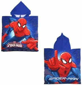 Children Hooded Bath Poncho Towel 100% polyester