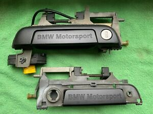 BMW E36 M3 Door Handles Pair BMW Motorsport Türgriffe Front doors 1997 1998 1999