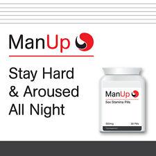 MAN UP SEX STAMINA PILLS IMPROVE STAMINA AND PERFORMANCE LAST ALL NIGHT LONG