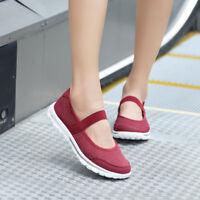 Women Lightweight Walking Shoes Plus Size Summer Breathable Flat Sneakers
