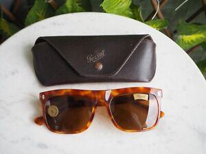 Sunglasses / Lunettes de soleil Persol RATTI 651 Vintage Never worn + case