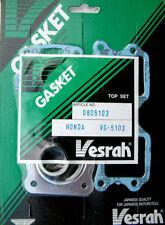 VESRAH set guarnizione finale superiore kit Honda NB50 Aero NE50 Visione SE50