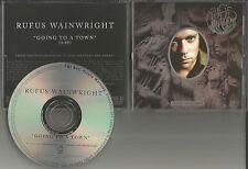 RUFUS WAINWRIGHT Going to A town PROMO Radio DJ CD Single 2007 USA MINT