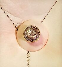 10K Retired Michael Hill Emma & Roe Charm With 1/4 Carat Diamonds, RRP$499