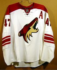 PHOENIX COYOTES SULLIVAN White #47 AUTHENTIC Size 56 Hockey NHL JERSEY