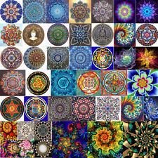 5D DIY Full Drill Diamond Mandala Abstract Painting Cross Stitch Kits Decor Xmas