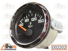 Manomètre de température d'huile cerclage chrome citroen 2cv dyane mehari -2202-