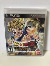 New Factory Sealed Dragon Ball Z: Ultimate Tenkaichi PS3 New Playstation 3