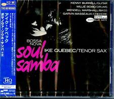 IKE QUEBEC-BOSSA NOVA SOUL SAMBA-JAPAN UHQCD BONUS TRACK Ltd/Ed E20