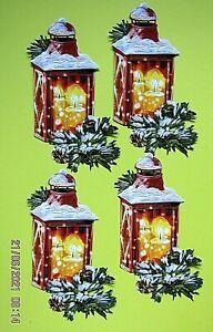 New: 8 x Tattered Lace : Christmas Lantern Charisma Die Cuts