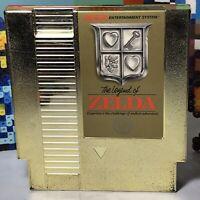The Legend of Zelda 5-screw Rare Gold (Nintendo Entertainment System) Nes NES