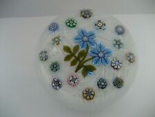 Peter McDougall Glass Limited Edition Millefiori Paperweight c/w PMCD Date Cane