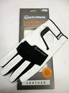 TaylorMade Stratus LEATHER Custom Golf Glove  - mens left hand glove