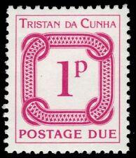 "TRISTAN da CUNHA J6 (SG D6) - Numeral of Value ""Postage Due"" (pa84149)"