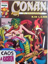 CONAN IL BARBARO COMIC ART N.46 1992 COLORE