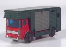 "Vtg  Matchbox Lesney AEC Ergomatic Cab COE Horse Box Truck 2.75"" Diecast Model"