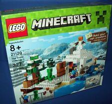 Lego Minecraft 21120 la Nieve Escondite Nuevo Sellado