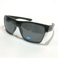 Oakley Sunglasses * Two Face XL 9350-01 Polished Black w/Black Iridium Polarized