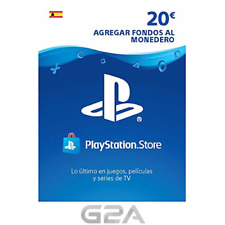 TARJETA PSN CARD 20€ - Código de descarga - Playstation Network PS4 20 Euro ES