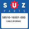 58510-16501-000 Suzuki Cable,rr brake 5851016501000, New Genuine OEM Part