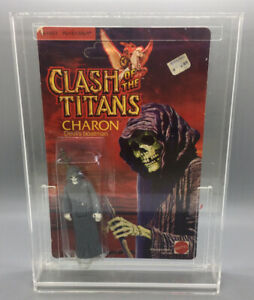 Charon Vintage 1980 Mattel Clash Of The Titans Action Figure MOC Unpunched Card