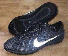 Nike Zoom Waffle XC Track Running Spikeless Shoes Black 749350-001 Mens sz 12.5