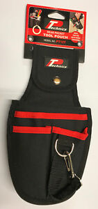 Technics Rear Pocket Tool Pouch With Clip & Loop  Heavy Duty High Quality Holder