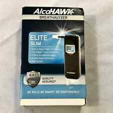 AlcoHawk Elite Slim Digital Breathalyzer D.O.T. Approved