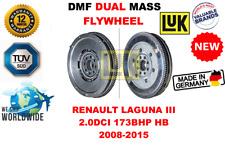 Para Renault Laguna III 2.0dci 173bhp Hb 2008-2015 Nuevo de Doble Masa Dmf