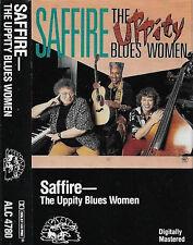 SAFFIRE THE UPPITY BLUES WOMEN CASSETTE ALBUM Boogie Woogie, East Coast Blues