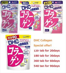 DHC Collagen Supplement 20/30/60/90 days tablets