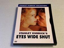 Eyes Wide Shut (Dvd, 2007) Tom Cruise Nicole Kidman Stanley Kubrick Rare Oop