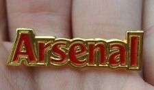 ARSENAL RED & GOLD GILT PIN BADGE RARE VGC