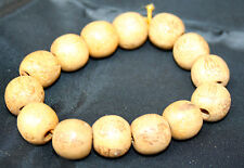 10 Wooden Buddha Beads Bracelets .One size fits all. Reiki Blessed