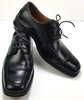Giorgio Brutini Oxford Shoes Mens Size 8 M Signature Collection Apron Toe Black