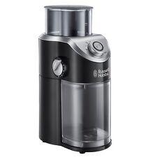 Russell Hobbs Classics Kaffeemühle Schwarz einstellbarer Mahlgrad 140 Watt
