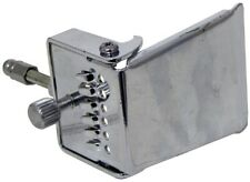 Tailpiece for GUITAR BANJO, Nickel plated steel. By Ashbury. At Hobgoblin Music