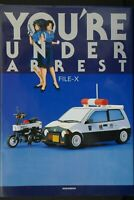 JAPAN You're Under Arrest FILE-X (Art Guide Book)