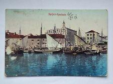SPALATO SPLJET Split Dalmazia AK old postcard vecchia cartolina