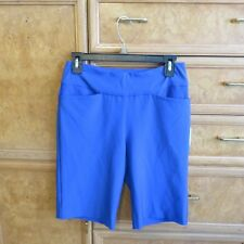Women's Tail white label modern fit royal blue golf shorts size 4 new NWT $70