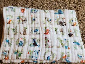 Aden & Anais Dream Blanket  muslin Paper Tales classic ABC animal alphabet