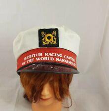 Bathtub Racing Capital of the World Captain's Hat Nanaimo Bathtub Race