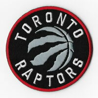 NBA Toronto Raptors Iron on Patches Embroidered Badge Patch Applique Sew Round